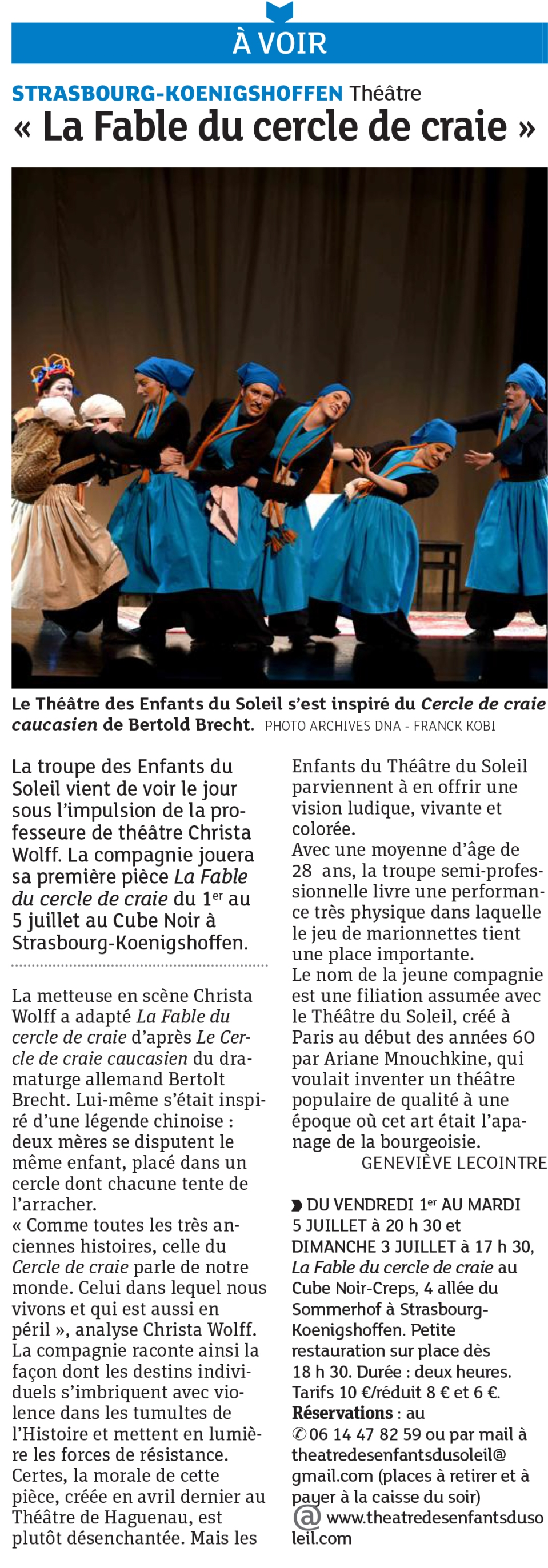 article DNA 29 juin 2016