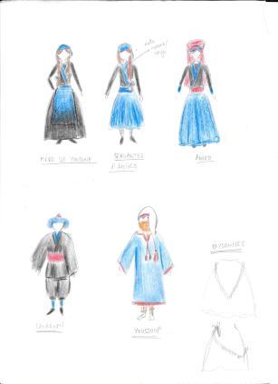 Costumes - de l'autre côté de la montagne