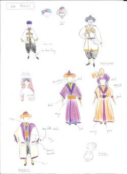 Costumes - les nobles