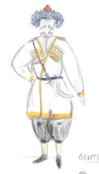 Costumes - modèle 1