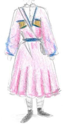 Costumes -modèle 4