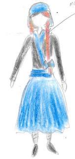 Costumes - servante d'Anoko