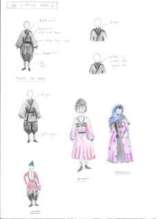 Costumes - tenues de base