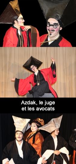 juge et avocats